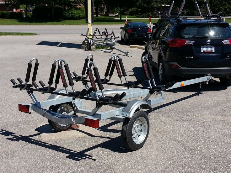 The Perfect Trailer For Transporter Your Kayaks Kayak