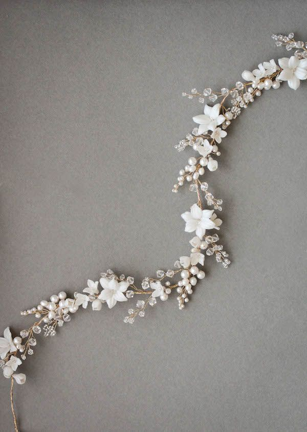CASSIA | Flower Bridal Headband