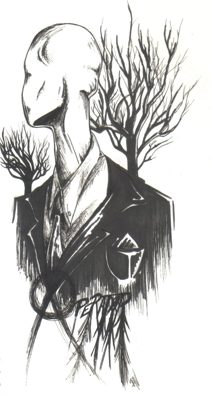 The Operator (The Slender Man) by ChillyAcademicIV.deviantart.com