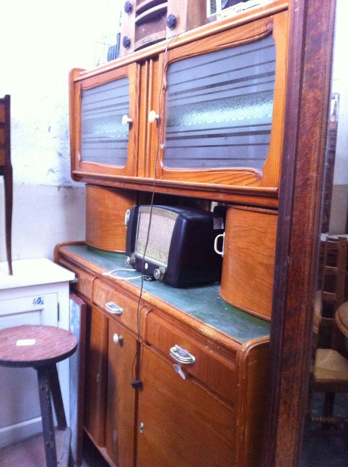 meubles en bois annee 50. Black Bedroom Furniture Sets. Home Design Ideas