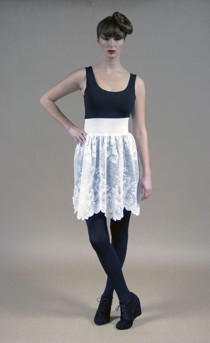 Racey Lacey Skirt Cream
