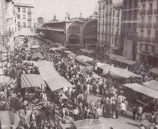 Mercado en Zaragoza, ZOCOS Y FERIAS.