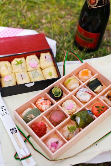 Temarizushi, Bite-sized Sushi Bento|手まり寿司弁当
