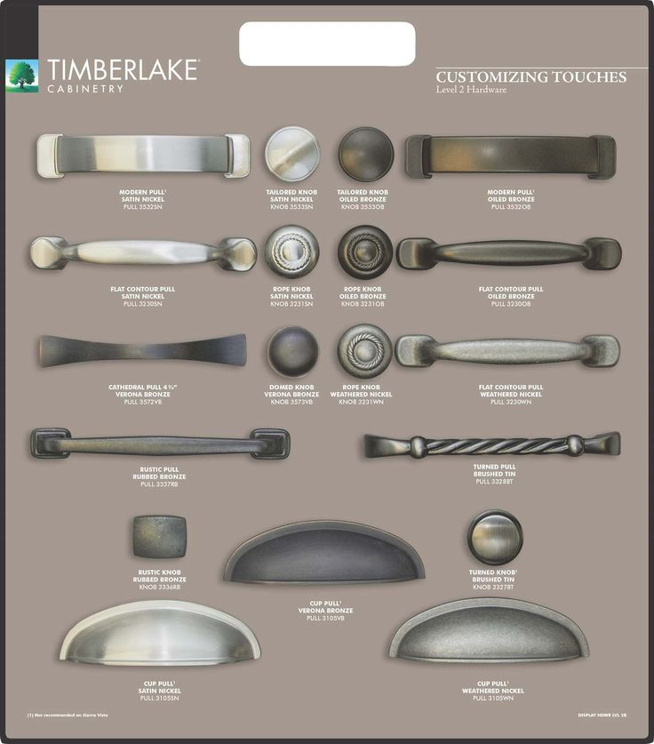 Awesome Weathered Nickel Cabinet Hardware