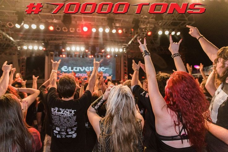 Show of hands!  Who will be sailing on board Round 7 of The World's Biggest Heavy #MetalCruise?  #70000tons