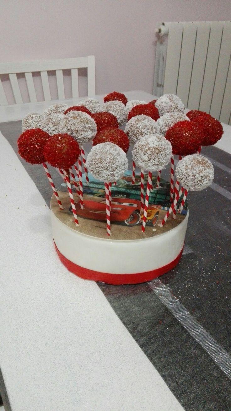 cake pops cars