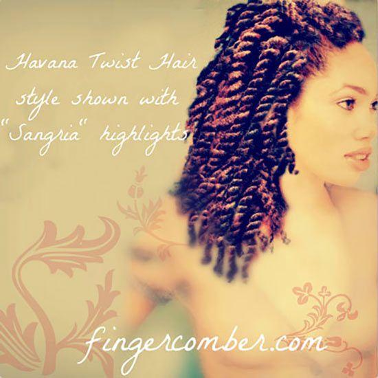 HAVANA HAIR SANGRIA