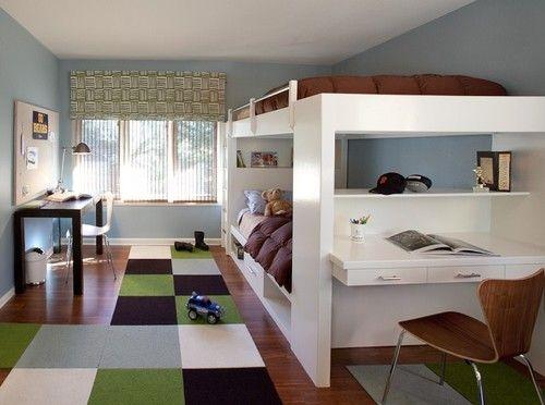 Contemporary Kids design by San Francisco Interior Designer lisa rubenstein – real rooms design