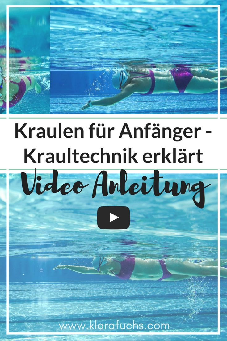Video: Mit diesen Übungen, lernst du das Kraulschwimmen. Kraulschwimmen einfach erklärt und via Video demonstiert. Inkl. Tipps von Profischwimmern. Du wolltest schon immer Kraulen lernen? Nutze dieses Video als Inspiration und traue dich ins Wasser!