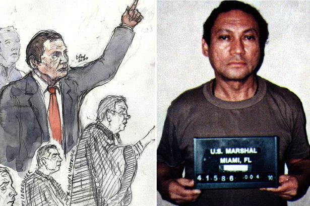 Manuel Noriega, General and CIA´s drug lord