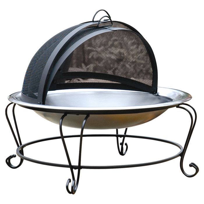 ... Profile Stainless Steel Fire Pit | Small terrace Ideas | Pinterest