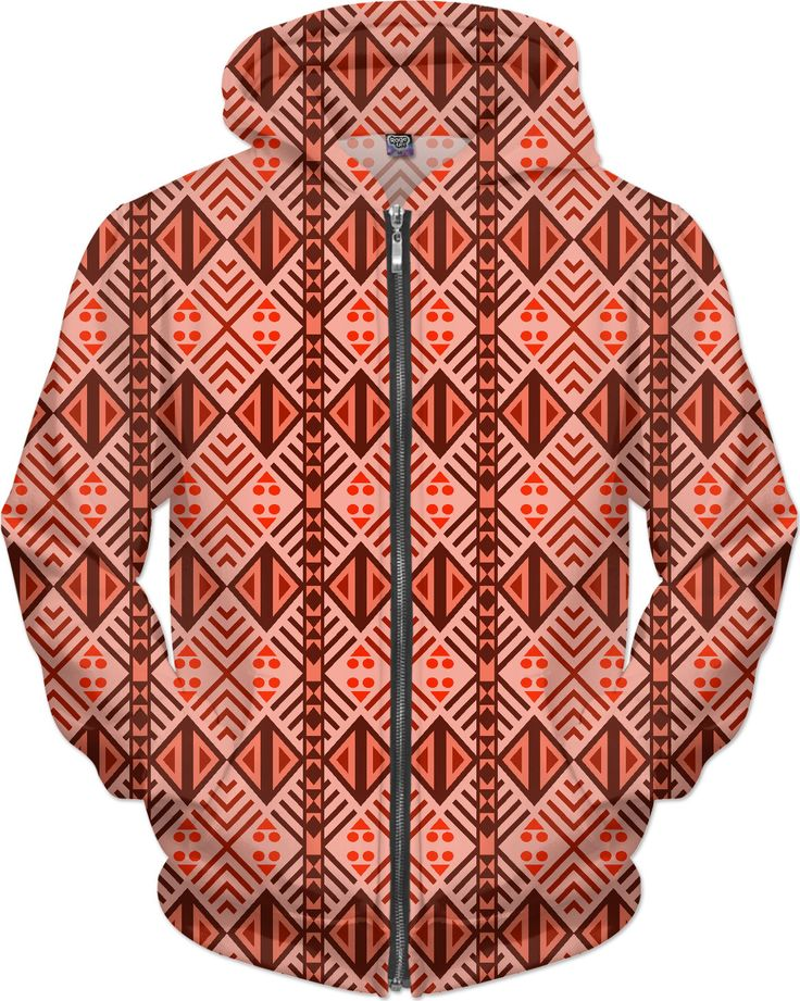 Tribal Warrior in Red Hoodie by Terrella available at  https://www.rageon.com/products/tribal-warrior-in-red-1?aff=BSDc  on RageOn!