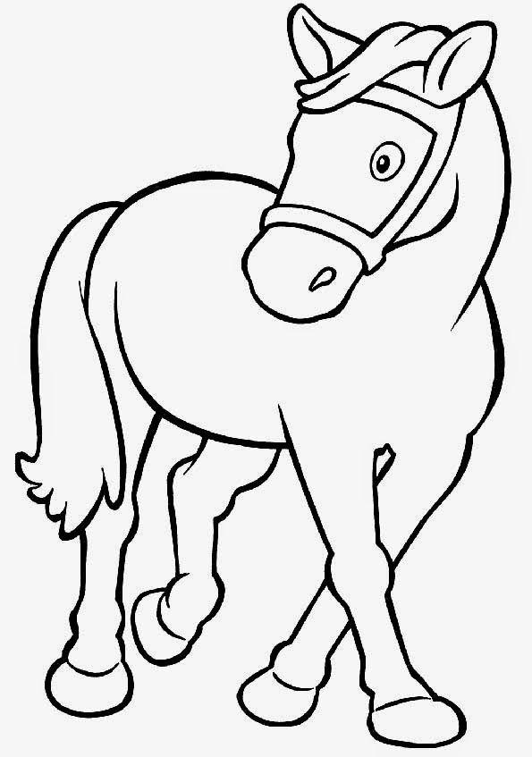 Pin de maria garcia en Caballos | Pinterest | Coloring pages, Horse ...