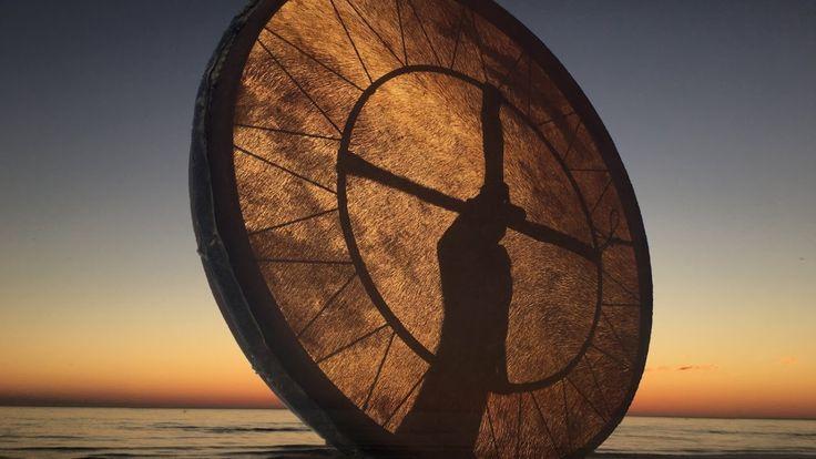 Real Shaman Healing Drum Part 4! 60 min.  shamanic journey - YouTube