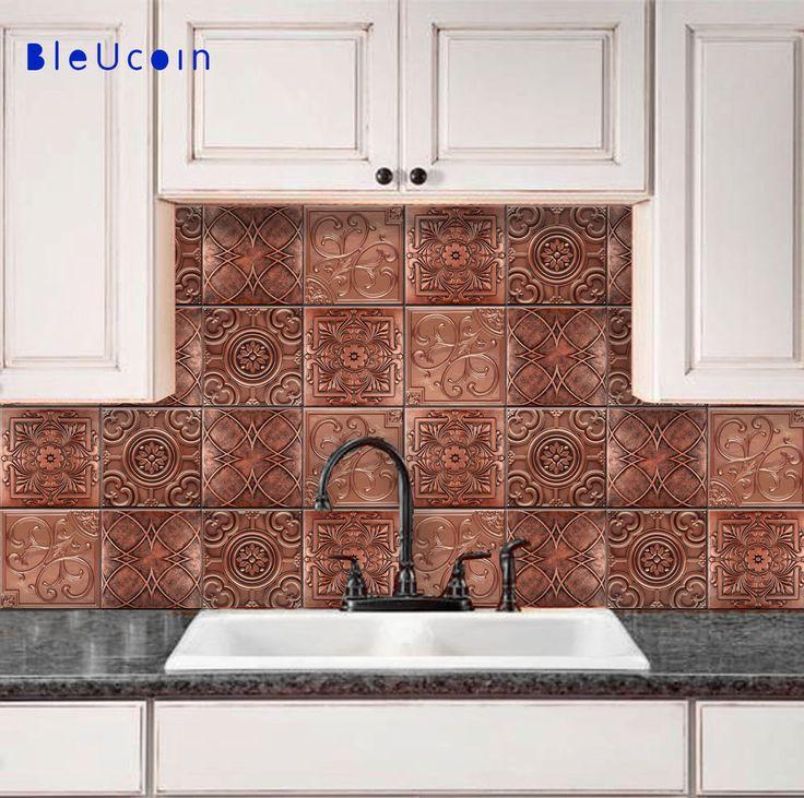 Kitchen Tile Wall best 20+ tin tiles ideas on pinterest | cheap wall tiles
