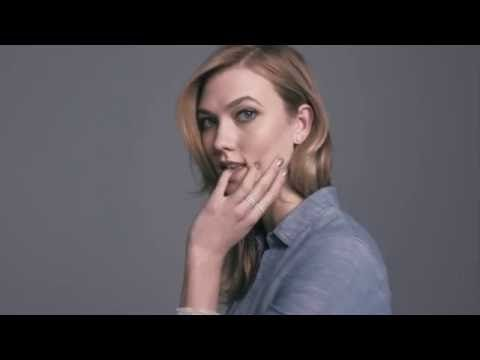 Karlie Kloss Swarovski campaign launches (Glamour.com UK)