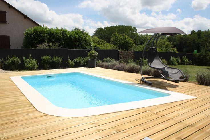 17 meilleures id es propos de piscine coque sur - Coque piscine carree ...