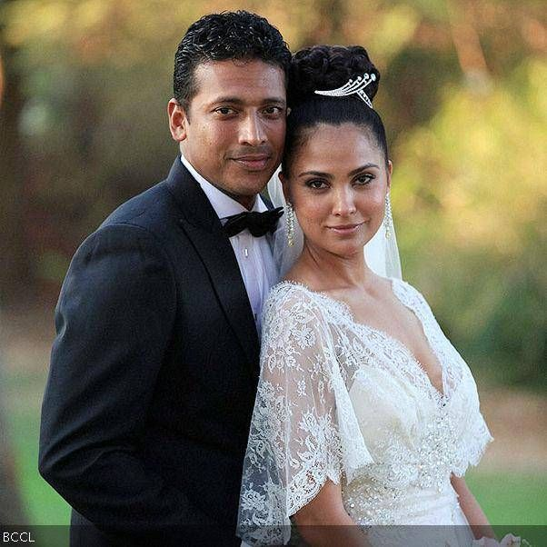 The much in love Lara-Mahesh's wedding took place in 'Catholic Style' at a private ceremony, held at Taj Aguada in Goa on February 19, 2011.