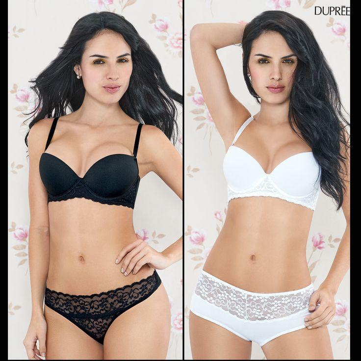 #Black #White #Interior #Moda femenina Colombiana. Dupree