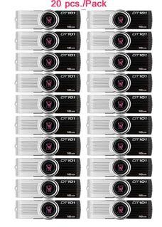 Flash Drive Kingston DT101G2/16GB สีดำ (20ชิ้น/แพ็ค)