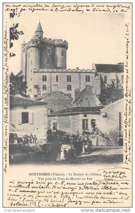 Cartes Postales > MORTHEMER LE DONJON DU CHATEAU