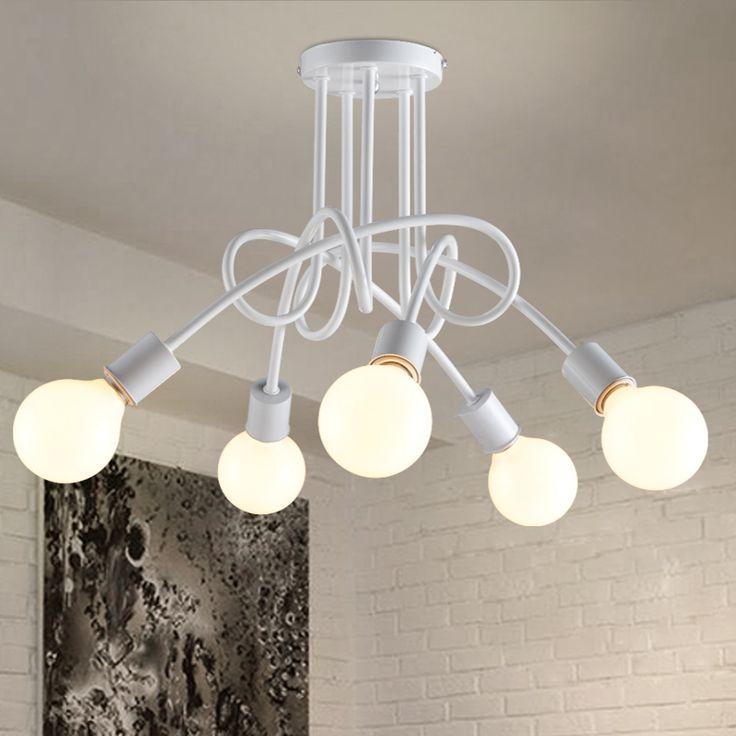 Vintage industrielle pendant light suspension luminaire hanglampen moderne nordic rétro lampe suspendus lampes appareils dans Lampes Suspendues de Lumières et Éclairage sur AliExpress.com | Alibaba Group