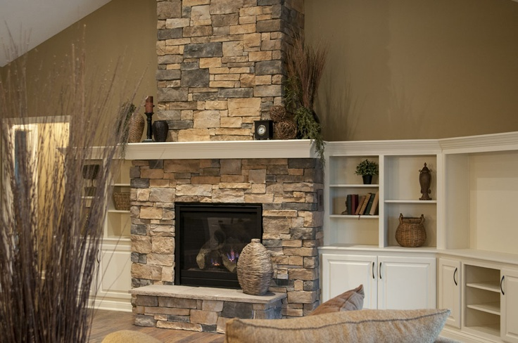 17 best images about Landmark Stone Fireplaces on