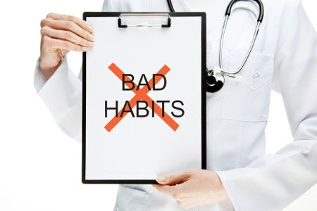 Habits may destroy your health .