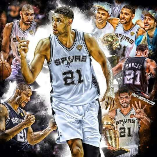 Spurs Tim Duncan just keeps getting younger! - Ronni