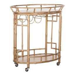 How to Build a Bar Tray Vignette.. Bar Cart on Obaz
