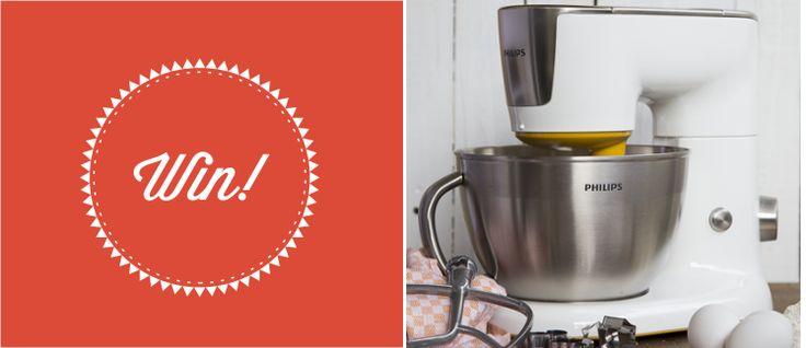 Ήρθε η ώρα να  αποκτήσετε κι εσείς τη νέα Κουζινομηχανή της Philips! Πώς? Μα θα σας την κάνουμε εμείς δώρο!