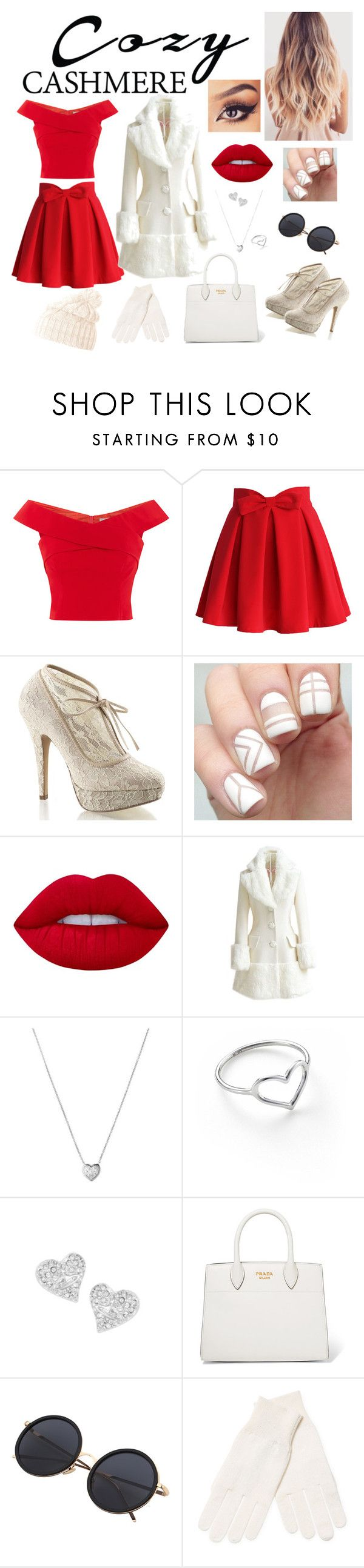 """Ação de Graças"" by atanaely-benaya ❤ liked on Polyvore featuring Chicwish, Pinup Couture, Lime Crime, WithChic, Links of London, Jordan Askill, Vivienne Westwood, Prada, White + Warren and Helly Hansen"