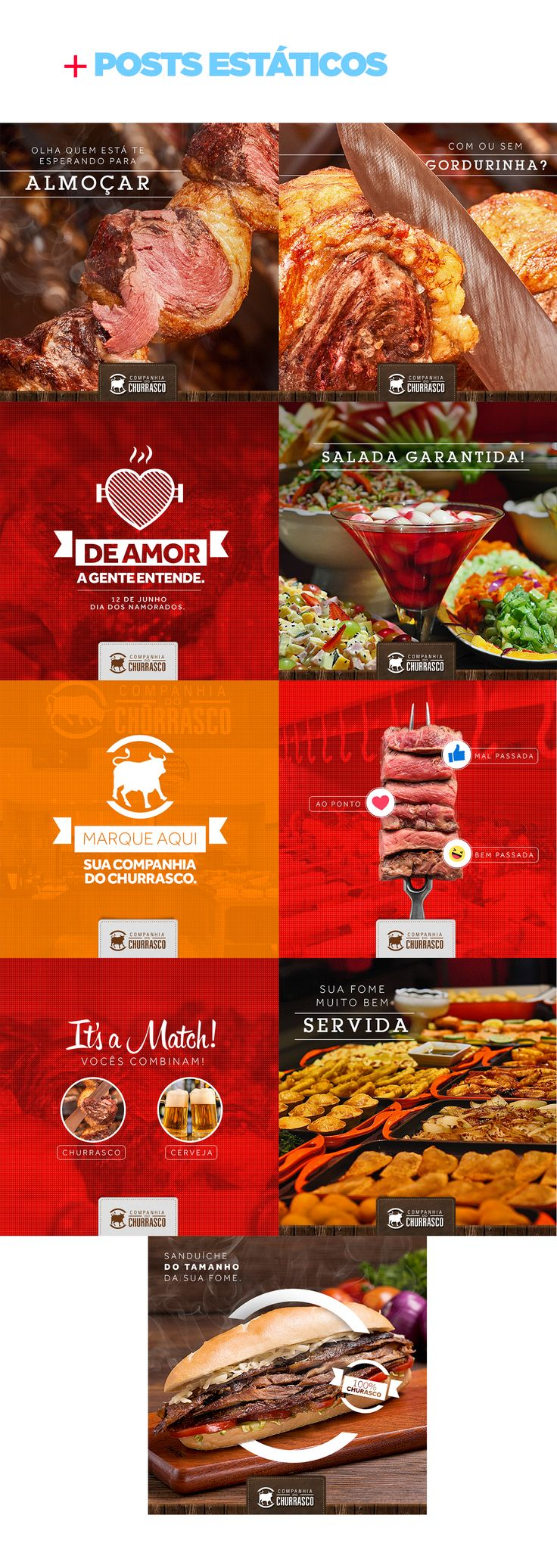 Social Media - Companhia do Churrasco on Behance - Tap the link to shop on our official online store! You can also join our affiliate and/or rewards programs for FREE!