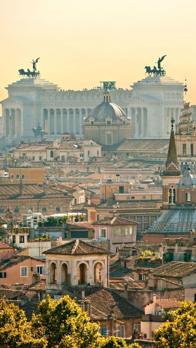 Rome skyline, Rome, Lazio, Italy