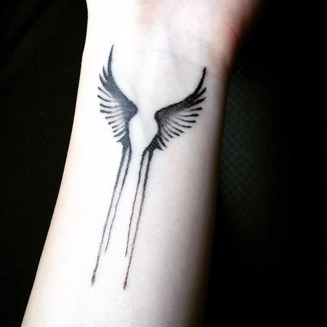 Afbeeldingsresultaat Voor Engel Vleugel Tattoo Pols Tattos