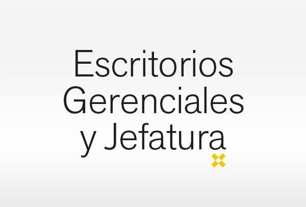 Escritorios Gerenciales y Jefatura