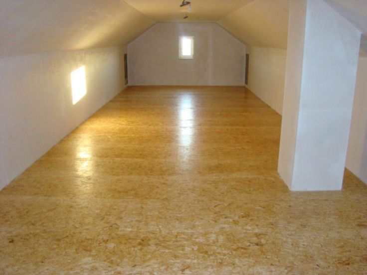 painted osb floors