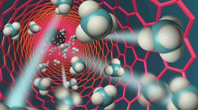 Descubren un nuevo material con nanotecnologia para reducir la contaminación que generan las centrales eléctricas alimentadas por combustibles fósiles.
