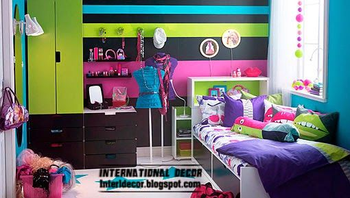 Mobili Moda    ideale per la decorazione camera adolescente ragazza moderna  esplosione di colori