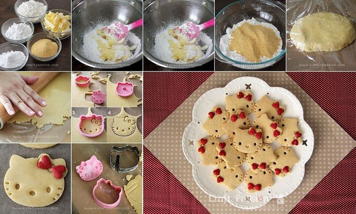 Hello Kitty Cookie Recipe