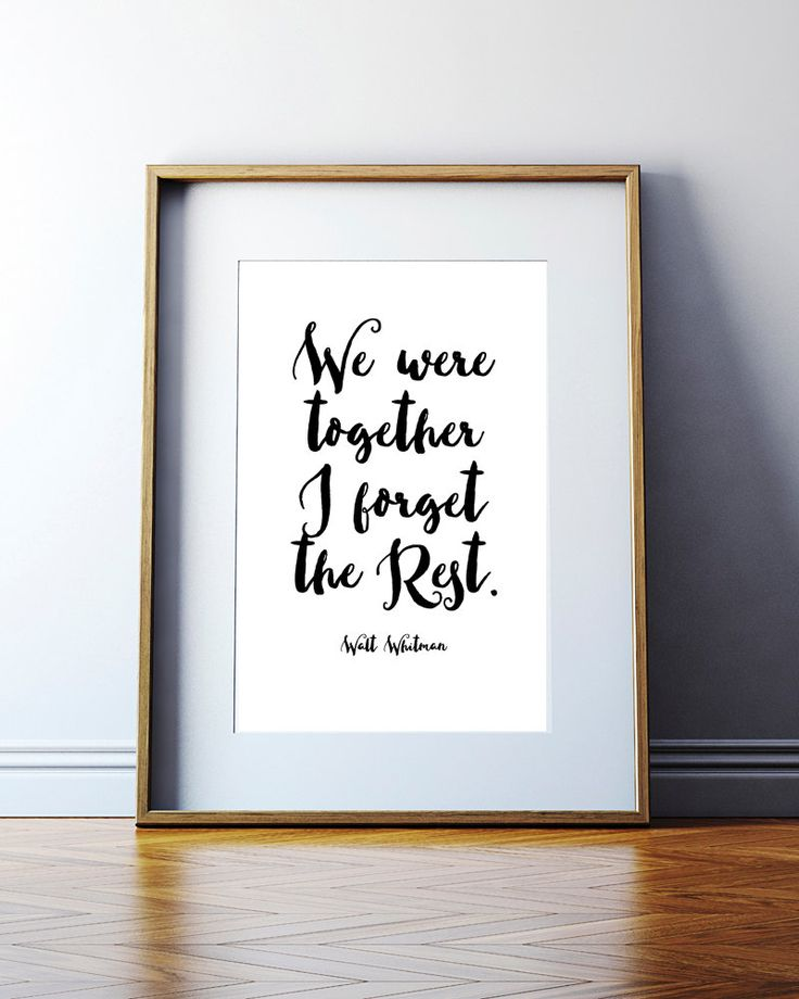 Walt Whitman Poem. Walt Whitman Quote. Great Cheap Gift. Boyfriend Gift. Cheap Valentines Day Gift. Girlfriend Gift. Cheap Wedding Gift