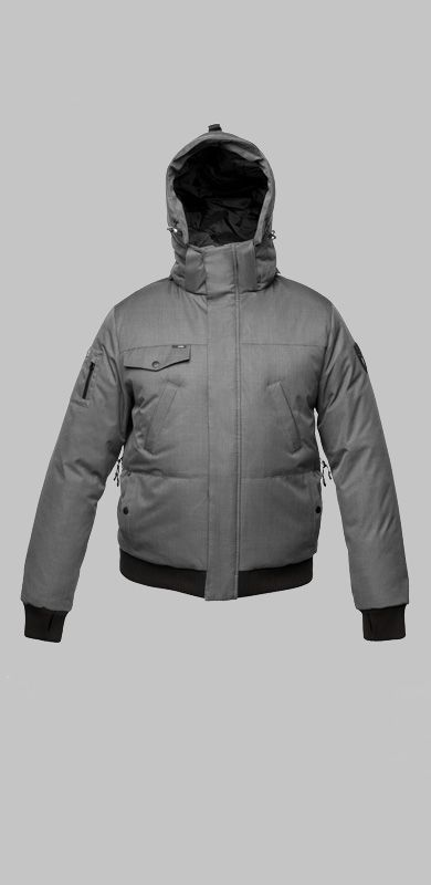 Men's Stanford jacket by Nobis.  Made with Canadian Duck Down.  www.explorewildmountain.com