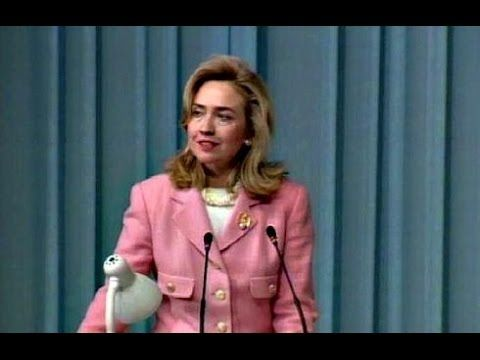 "American Rhetoric: Hillary Rodham Clinton -- United Nations 4th World Conference Speech (""Women's Rights are Human Rights"")"