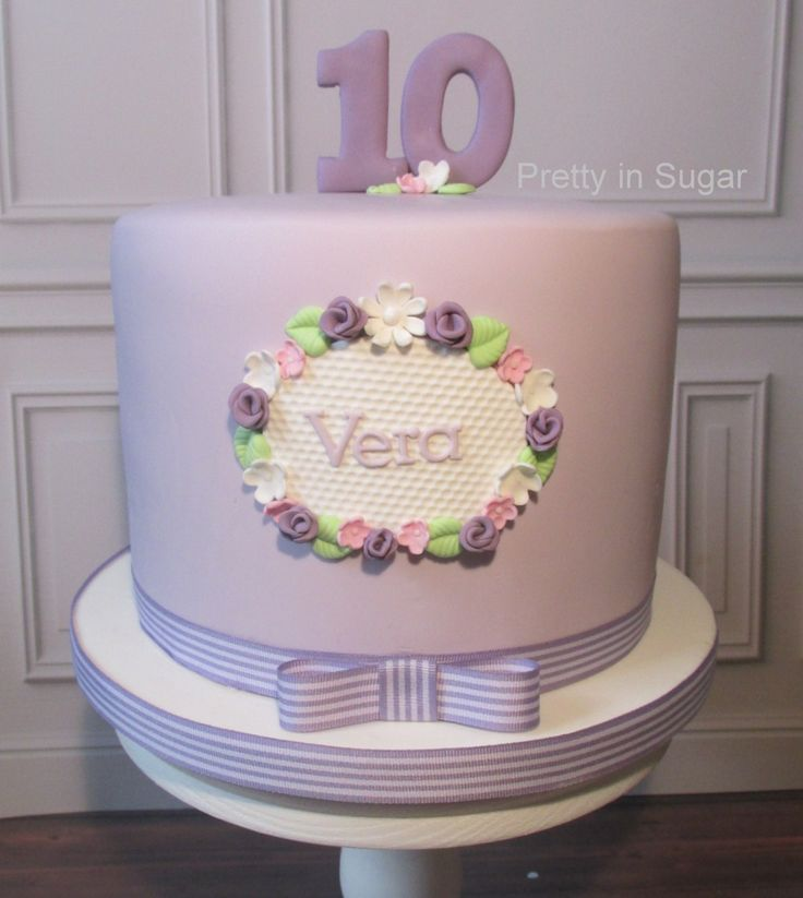 Lavender Cake | Cake stand by Coco&Baunilha