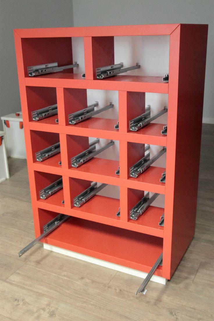 Guide Blumotion per i cassetti - 12drawers