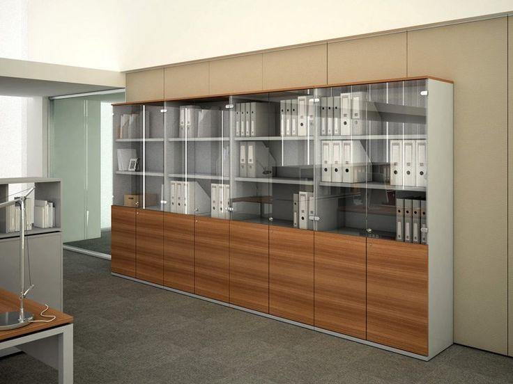 Mueble de oficina modular FILE WOOD by ESTEL GROUP