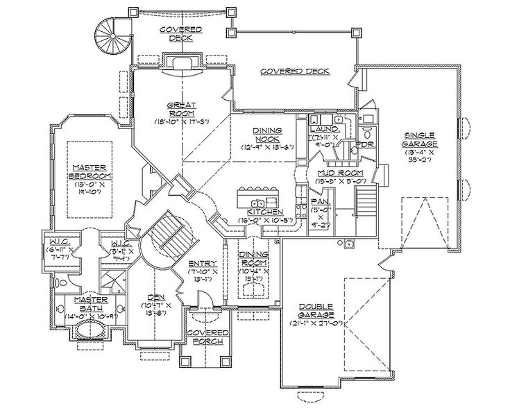 17 best ideas about rambler house plans on pinterest for Custom ranch floor plans