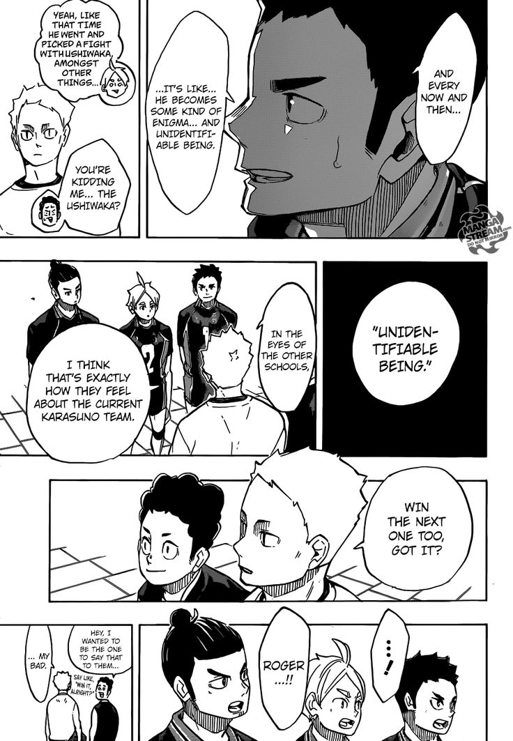 Read manga Haikyuu!! 243 - Their Respective First Matches online in high quality