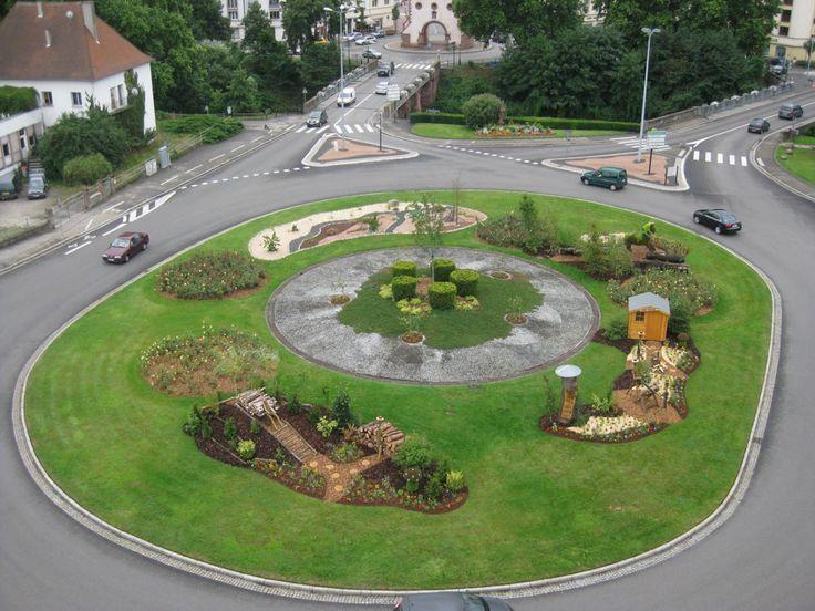 Rond point de landau la ville de haguenau a re u le prix for Au rond point de la piscine