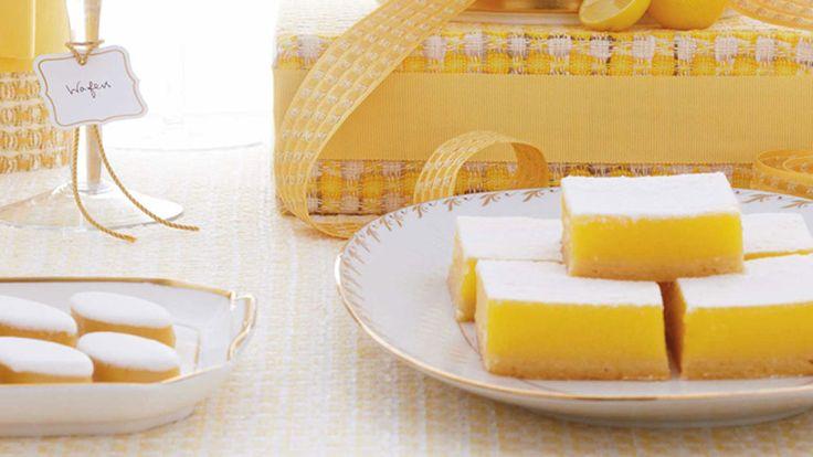 Tangy Lemon Bars Recipe